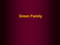 Families - Green