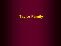 Families - Taylor