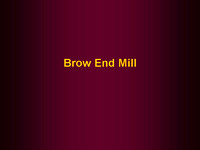Mills - Brow End